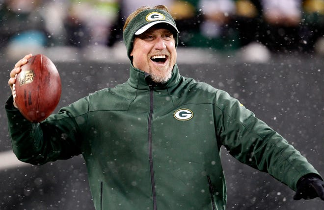 Green Bay Packers linebacker coach Kevin Greene is shown before their game against the Detroit Lions Sunday, December 9, 2012 at Lambeau Field.