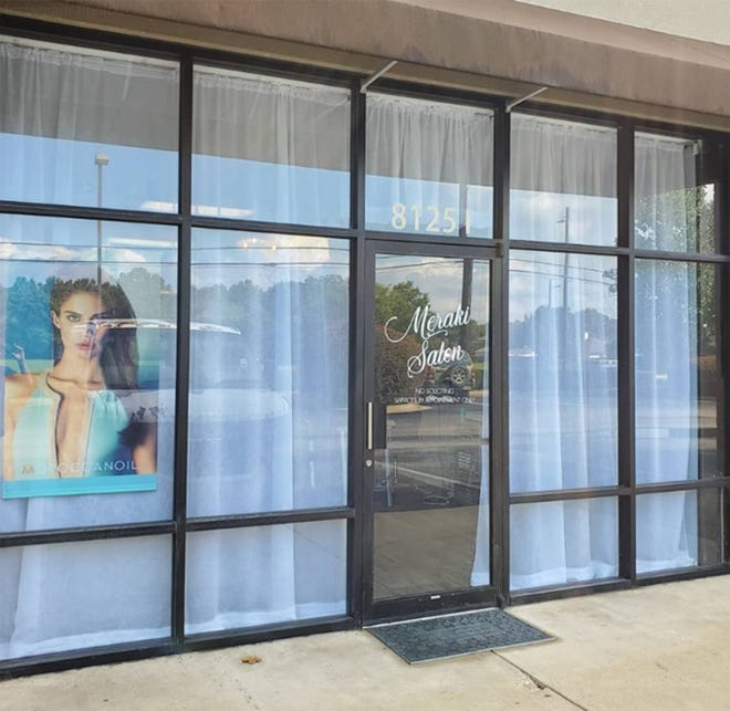 Meraki Salon is now open at 8125 Decker Lane in Suite I across Atlanta Highway from the Arrowhead and Lake Forest communities in east Montgomery.