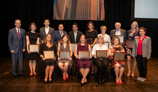 Ball State University presented Outstanding Faculty awards at its 2019 Fall Opening Convocation.