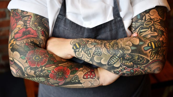 A Knife A Fork And Tattoos North Jersey Chefs And Their Inked Bodies