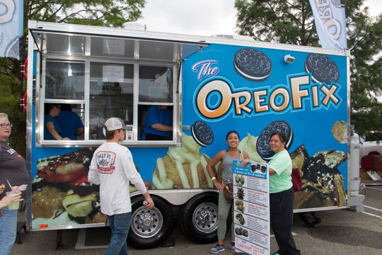Food trucks often offer unique food options, like the sweet treats at The Oreo Fix.