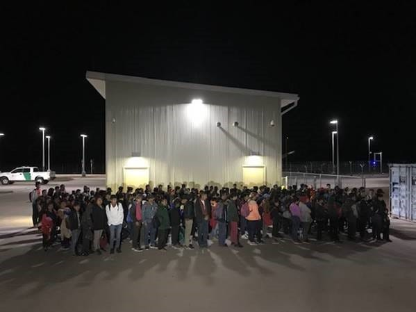 The United States Border Patrol detained 194 migrants who crossed at the Antelope Wells Port of Entry about 3 a.m. Sunday, Aug. 18, 2019.