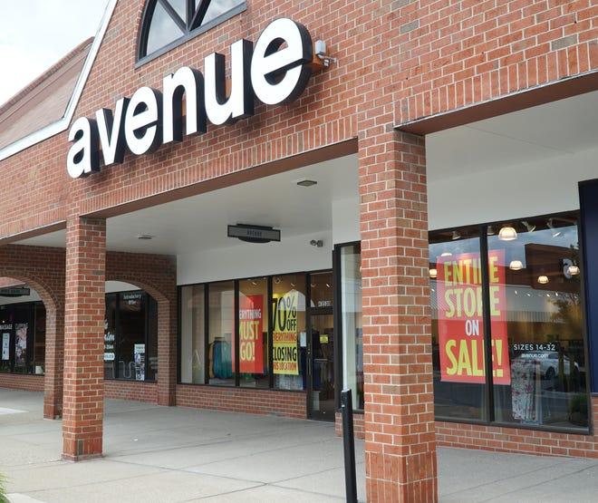Novi's Avenue clothies in West Oaks mall off Novi Road.