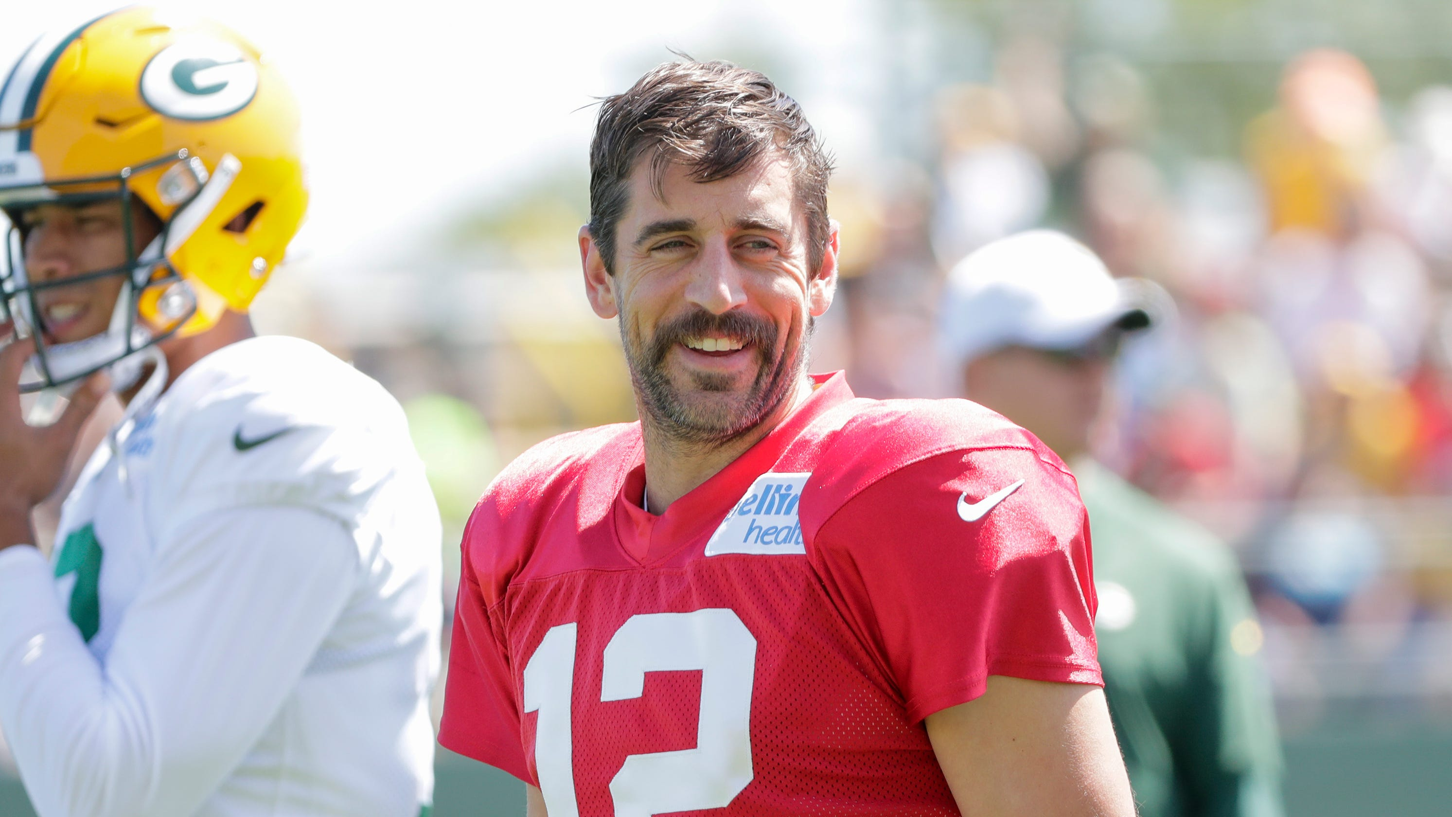 various colors b1a3b e569d Aaron Rodgers on Rich Eisen: 'Win the Super Bowl when I'm 45 ...
