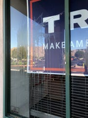 The office of the East Valley Republican Women Federated was egged on Aug. 18, 2019, following an ice cream social.