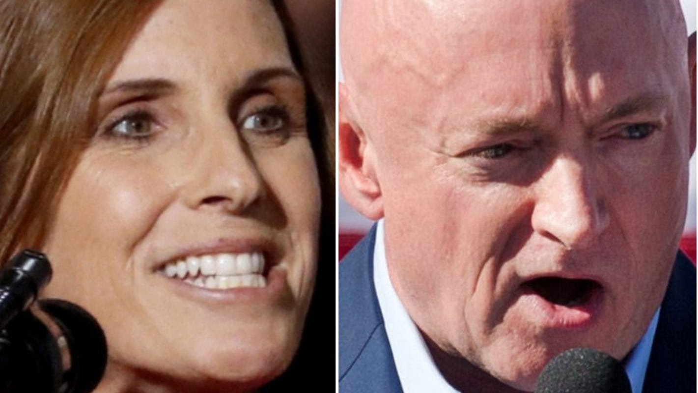 Democrat Mark Kelly outpaces Republican Martha McSally in latest Senate fundraising tally