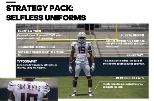 More details on ASU football's new uniforms.