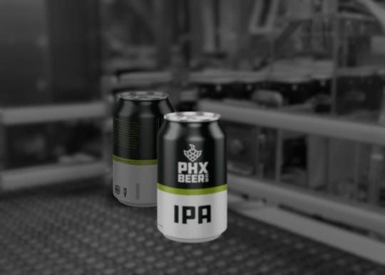 PHX Beer Co.'s IPA will be their flagship beer.