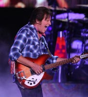 John Fogerty performs on the final day of the 50th anniversary of Woodstock at Bethel Woods Center for the Arts in Bethel on Sunday, August 18, 2019.