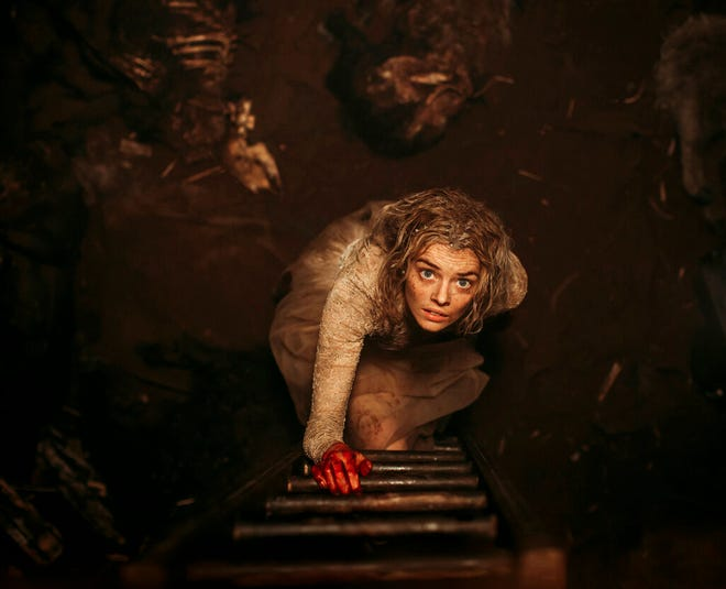 """Samara Weaving stars in """"Ready or Not"""" as a bride who tries to stay alive until dawn on her wedding day as her in-laws hunt her down and try to kill her. The movie opens Tuesday at Regal West Manchester and Wednesday at R/C Hanover Movies."""