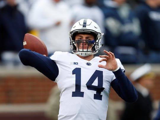 Sean Clifford is considered the favorite to become Penn State's starting quarterback in 2019, replacing Trace McSorley.
