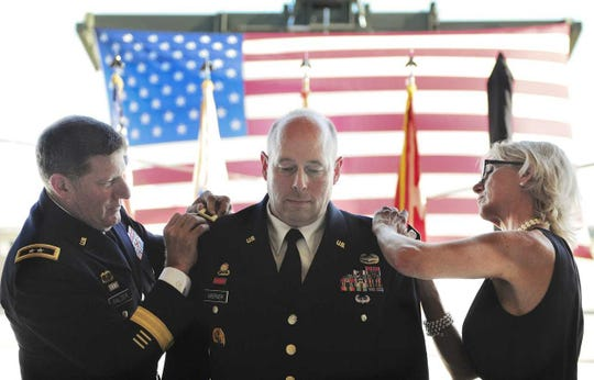 Newly minted Brig. Gen. Stuart Werner got his stars at a ceremony Aug. 24.