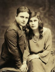Wedding Day. On Aug. 3, 1923 in New York City, Steven Christoff of Rochester, 21 wed Marie Popova