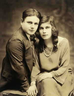 Wedding Day. On Aug. 3, 1923 in New York City, Steven Christoff of Rochester, 21 wed Marie Popova