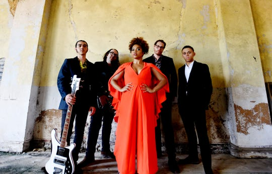 The Seratones are made up of A.J. Haynes (vocals/guitar), Jesse Gabriel (drums), Adam Davis (bass), Travis Stewart (guitar), and Tyran Coker (keyboard).