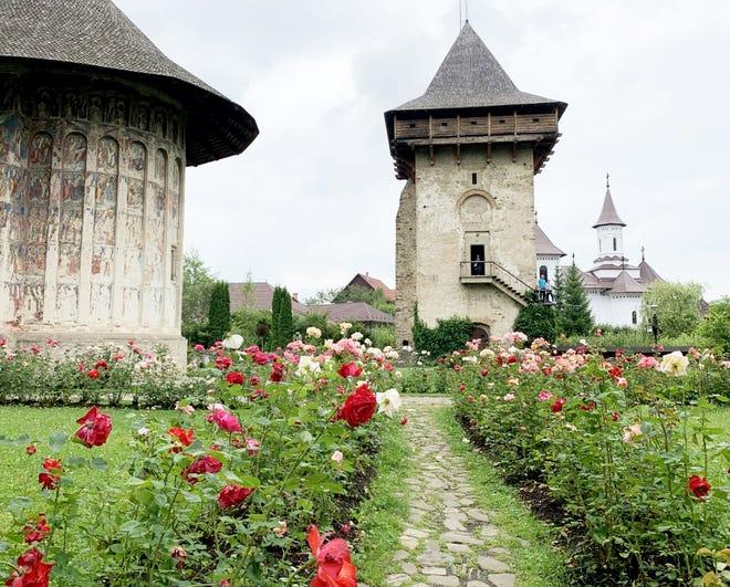In the region around Staunton's sister city in Romania, Viseu de Sus, monasteries dot the landscape.