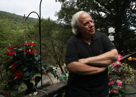 """Documentary filmmaker Joe Allen who was photographed at his home in Stony Point on Aug. 16, 2019, talks about making """"There Was No Silence.""""  This film is about the JCC Rockland's efforts to get a moment of silence for the 11 Israeli Olympic athletes murdered in 1972 Munich Olympics."""