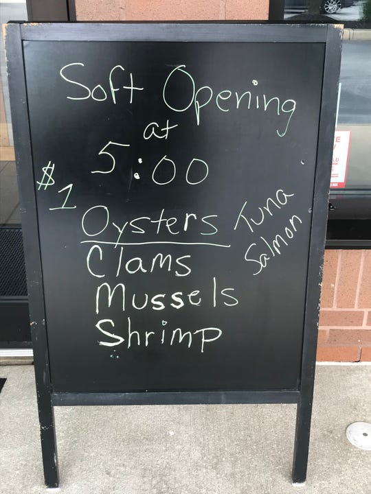 Bogle Cove Oyster House in Pike Creek is offering a variety of seafood items.