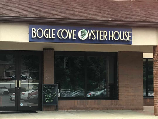 Bogle Cover Oyster House is a new restaurant that has quietly opened in the Shops of Limestone Hills off Del. 7 in Pike Creek.