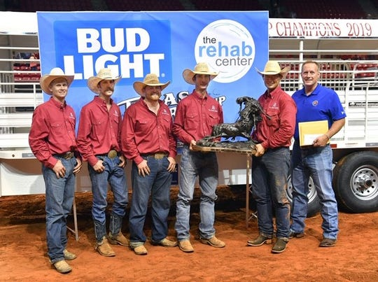 The RA Brown Ranch won the 39th Annual Texas Ranch Roundup, held at MPEC Aug. 16-17, 2019. The RA Brown Ranch, a family business in Throckmorton, Texas, since 1895, also earned the top spot in 2006, 1992 and 1984.