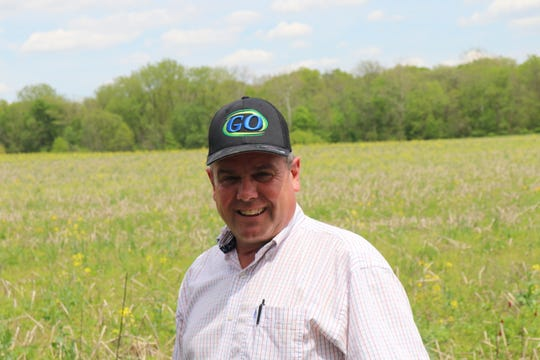 Dave Chance of Chance Farms, Lebanon, Ind., started integrating cover crops into his corn and soybean rotation in 2005. This year, 600 acres of the 2,200 acre farm went into prevent plant.