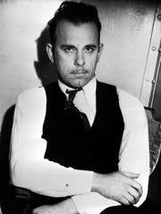 John Dillinger in 1934.
