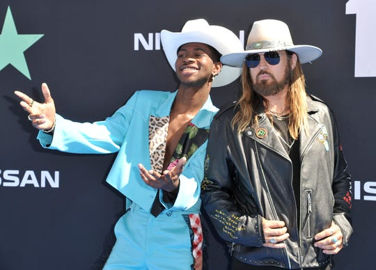 Lil Nas X, Billy Ray Cyrus applaud Billie Eilish for ending 'Old Town Road's historic run