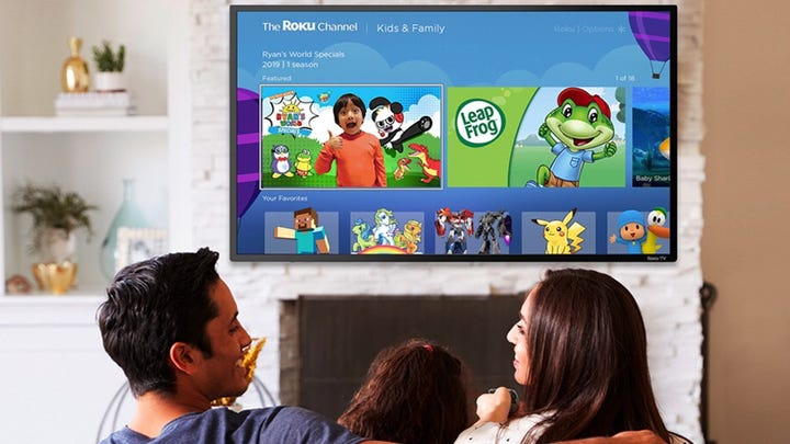 Roku adds 'Kids & Family' destination to its free-to-watch Roku Channel