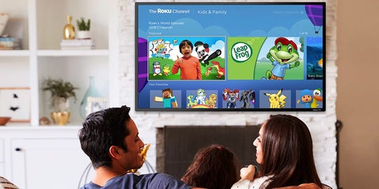 """The Roku Channel is getting a new """"Kids & Family"""" experience on the streaming platform."""