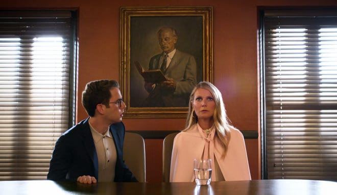 "Ben Platt and Gwyneth Paltrow in Netflix's Ryan Murphy series, ""The Politician."""