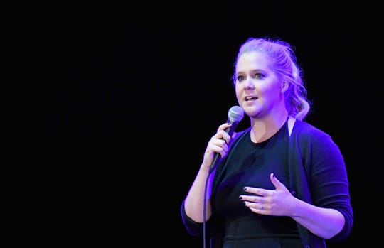 New mom Amy Schumer is only woman on Forbes' list of highest-earning stand-up comedians