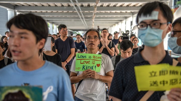If China prevails in Hong Kong, religious freedom could be the first right to disappear