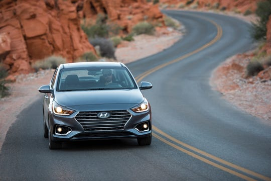 The 2019 Hyundai Accent topped the list of best cars for teenage drivers, according to U.S. News.