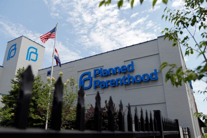 FILE- In this June 4, 2019, file photo, a Planned Parenthood clinic is photographed in St. Louis. (AP Photo/Jeff Roberson, File)
