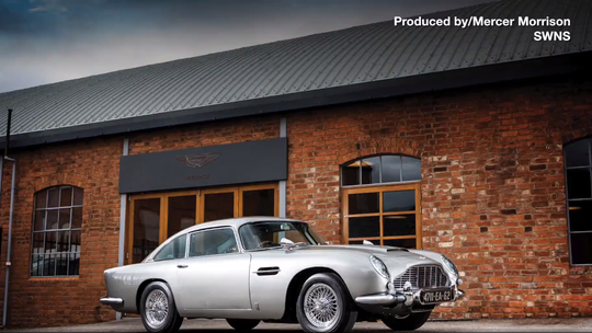 Aston Martin reveals what it calls 'the greatest car lineup in a Bond movie, ever'