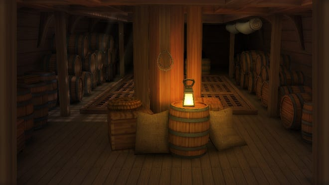 Step into a virtual representation of a Portuguese slave ship.