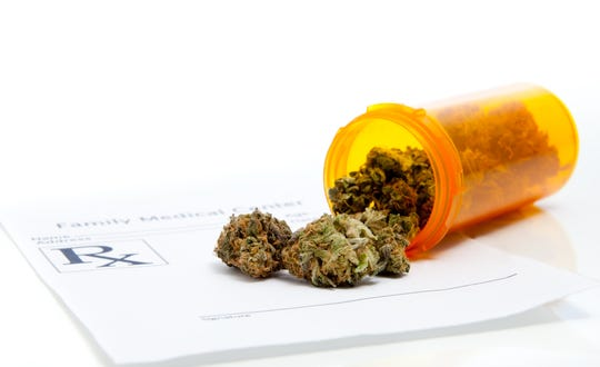 Prescription for medical marijuana from family health care doctor