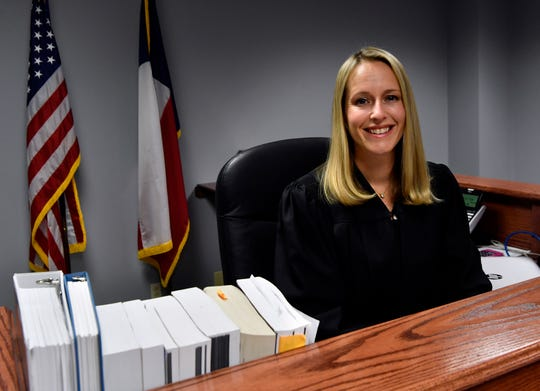 April Propst, who has served as associate judge of the 326th District Court since 2017, has been appointed associate judge of the new Child Protective Court. She will work at the Taylor County Courthouse in the chambers formerly occupied by commissioners.