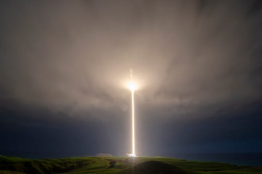 Rocket Lab's Electron rocket launches from New Zealand on Monday, Aug. 19, 2019 (Eastern time).