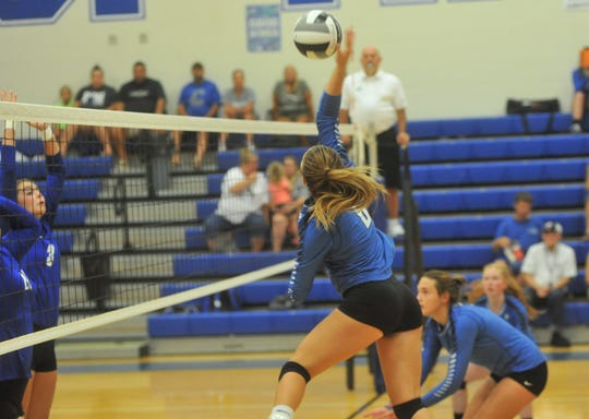 Reese McGuire stepped in as a freshman and was a key member of Wynford's team.