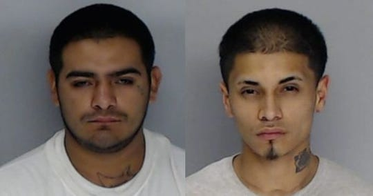 Abel Perez, 25, and Isaac Saiz, 21.
