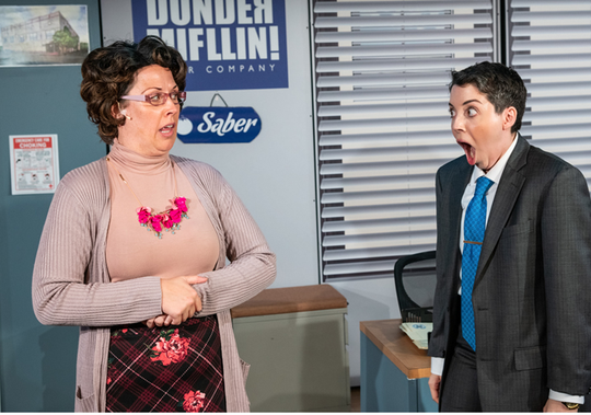 The Office! A Musical Parody will perform for one-night only on March 13 at the American Bank Center — Selena Auditorium.