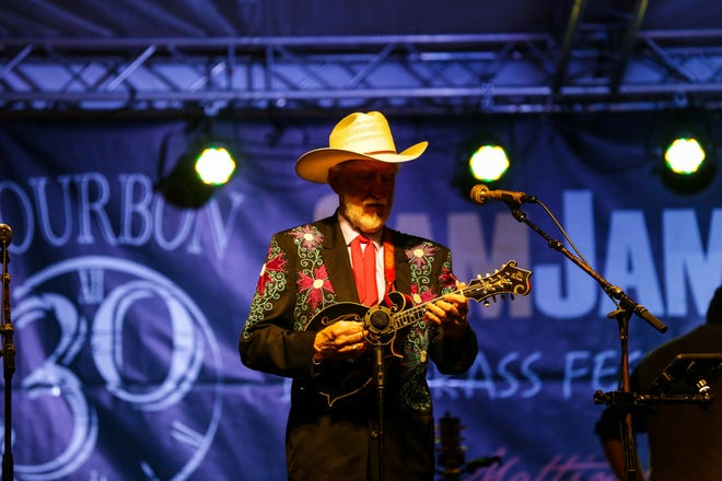 Bluegrass legend Doyle Lawson performs at the 2018 SamJam Bluegrass Festival in Piketon.  Doyle Lawson & Quicksilver return to the festival this year, along with nationally-recognized acts over the course of the five-day event.