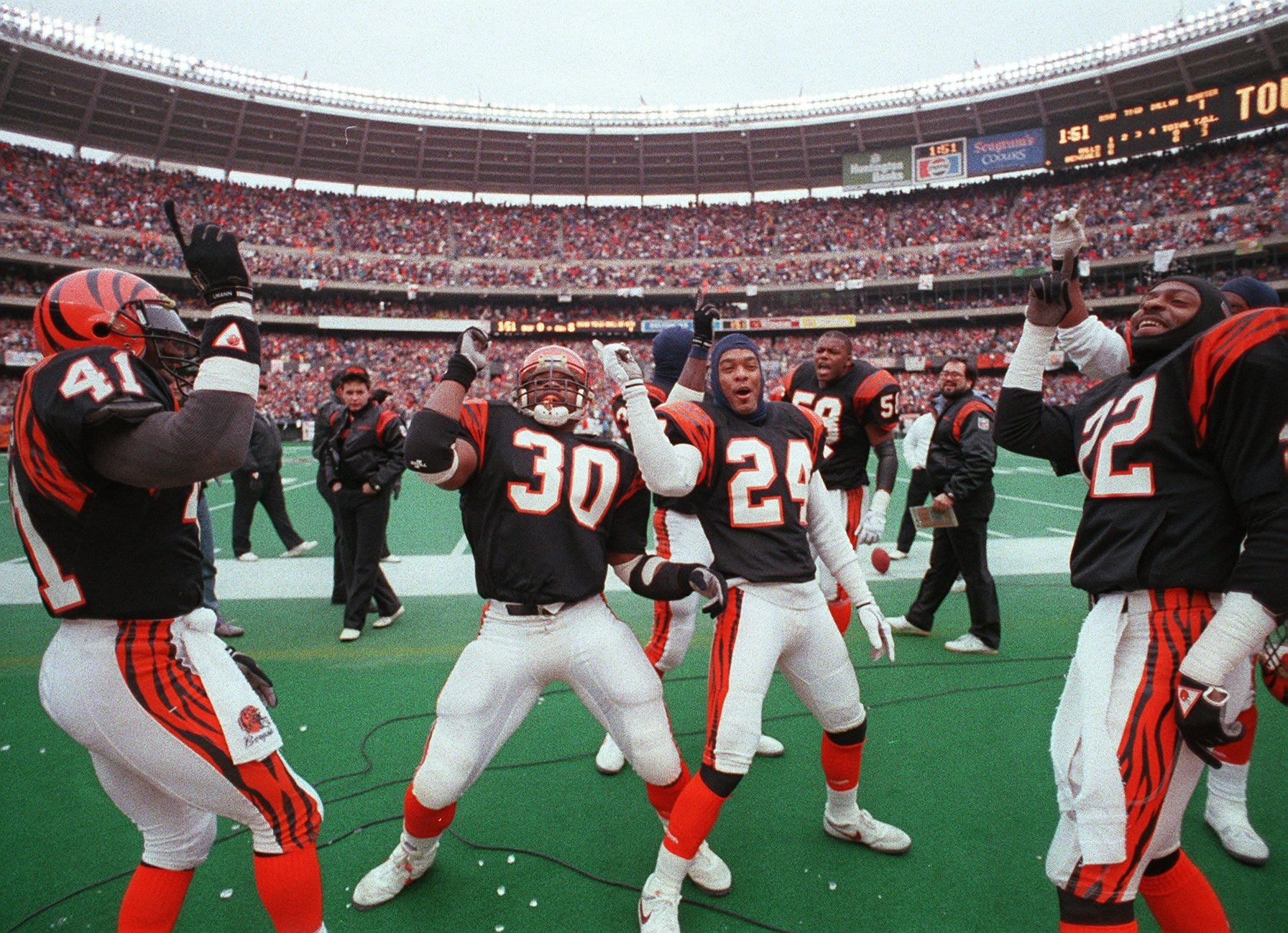 GALLERY: Top 100 Bengals players in history
