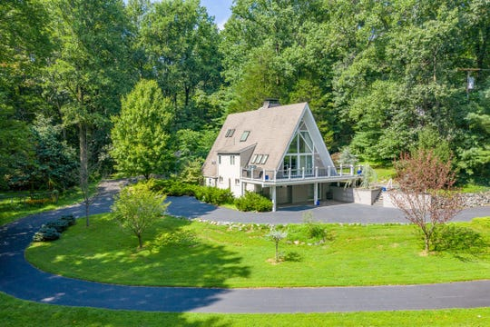 An updated A-framehome is for sale in Alexandria Township for $369,900.