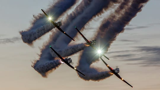 Aeroshell will be among the performers at the Central Iowa Airshow in Ankeny this weekend.