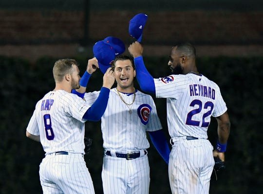 Albert Almora Jr., decided to rush back to the minors.