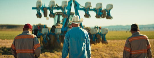 """A scene from the documentary film """"30 Harvests."""""""