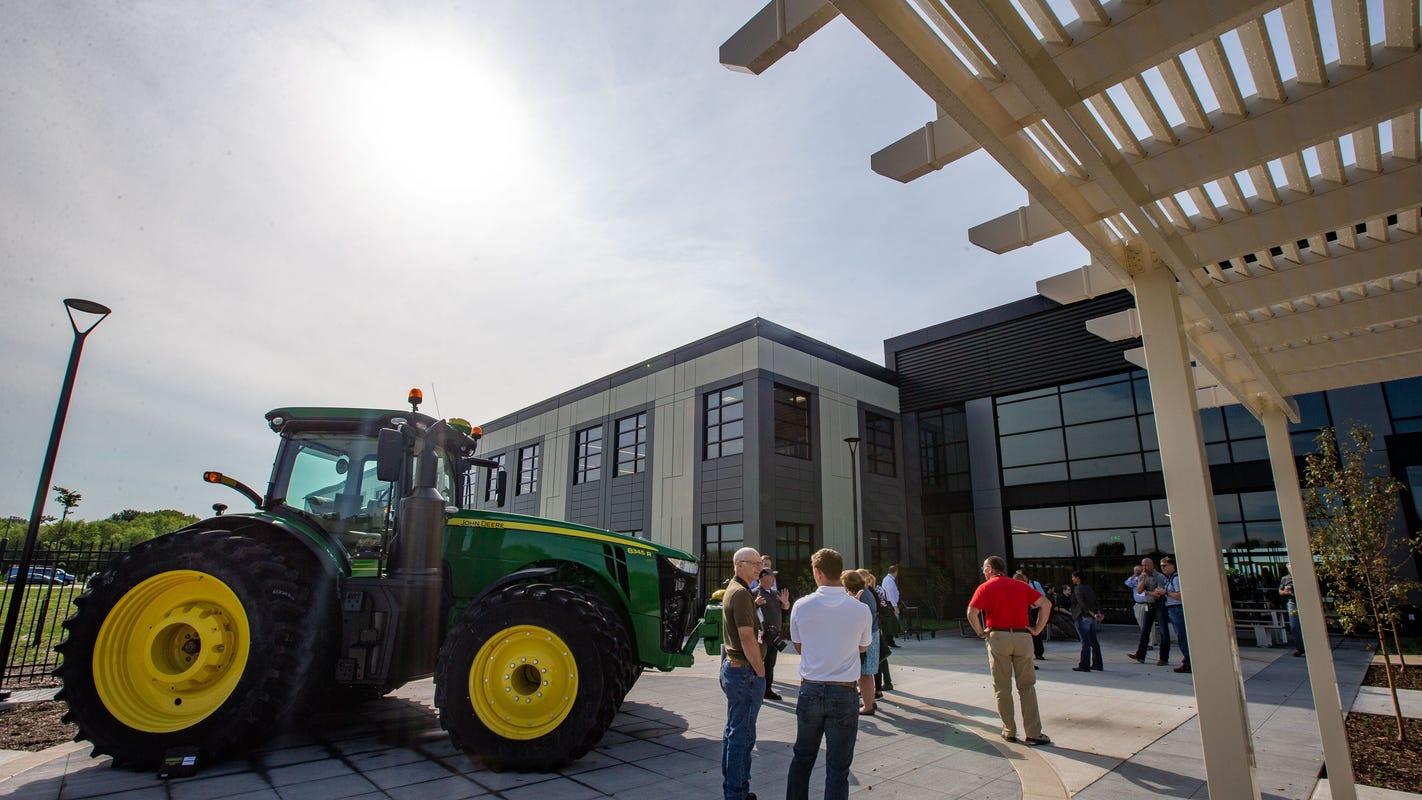 Deere's new $33 million tech center in Urbandale will make farm machines smarter