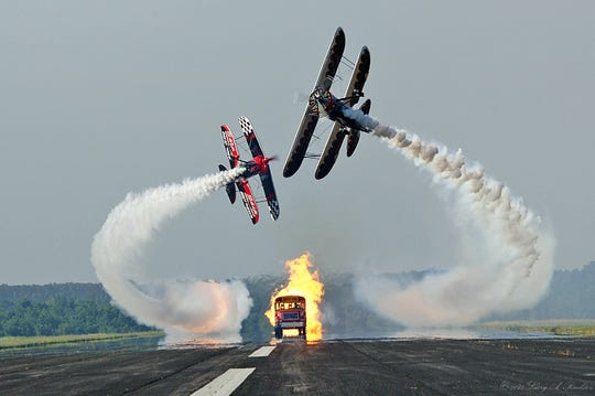 Skip Stewart will be one of the flight acts at this weekend's Central Iowa Airshow at Ankeny Regional Airport.